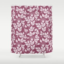 Leaves Pattern 6 Shower Curtain