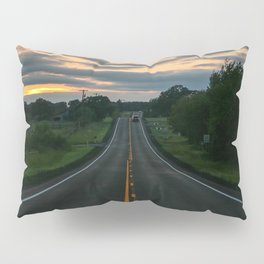 Just standin' in the middle of a country road and watchin' the sun set... Pillow Sham