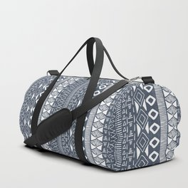Adobe in Navy Blue and White Duffle Bag
