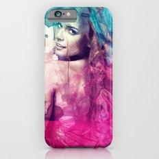 Woman in Splash of Watercolor Slim Case iPhone 6s