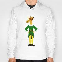 elf Hoodies featuring Elf Unicorn by That's So Unicorny