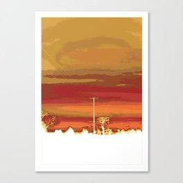 sunset 1 Canvas Print