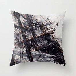 All Hands On Deck Throw Pillow