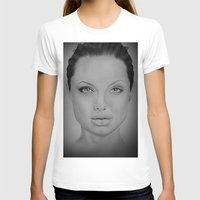 angelina jolie T-shirts featuring Angelina Jolie by Zombie Devine