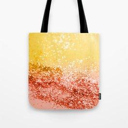 Tropical Summer Lady Glitter #2 #shiny #decor #art #society6 Tote Bag