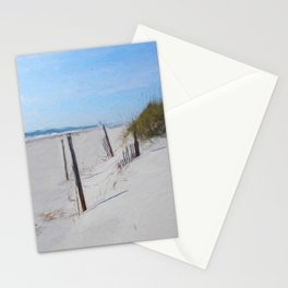 Van Gogh's Beach Stationery Cards