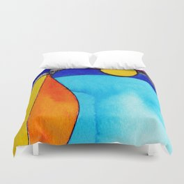 Magical Thinking 7A2 by Kathy Morton Stanion Duvet Cover
