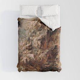 Peter Paul Rubens's The Fall of the Damned Duvet Cover