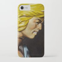 he man iPhone & iPod Cases featuring HE-MAN by John McGlynn