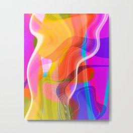 Digital Abstract #2 Metal Print
