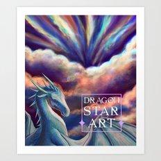 DragonStarArt Banner Art Print