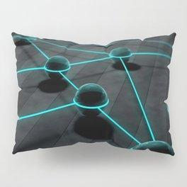 3D Teal Balls Pillow Sham