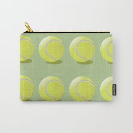 Tennis Ball Pattern Carry-All Pouch