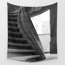 Sand stone spiral staircase Wall Tapestry