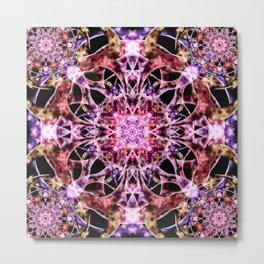 Transcendance Mandala Metal Print