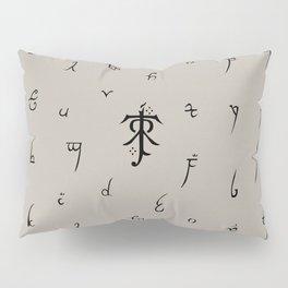 Elvish Letters Pillow Sham