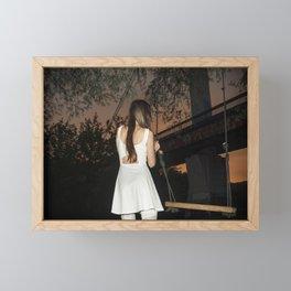 Under the Bridge Framed Mini Art Print
