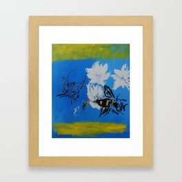 Chipper and the Bee Framed Art Print