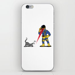 Cats & Lasers iPhone Skin