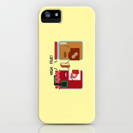 PB & J - High Five iPhone Case