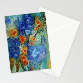 Over Bloom Stationery Cards