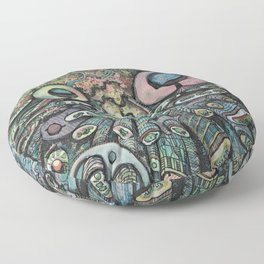Sci-Fi Floor Pillow