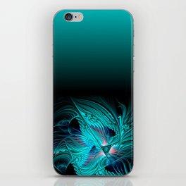 window curtain - fractal elegance -1- iPhone Skin