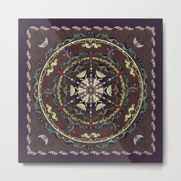 The Source Mandala Metal Print