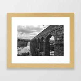 Segovia, Spain - Aqueduct Framed Art Print