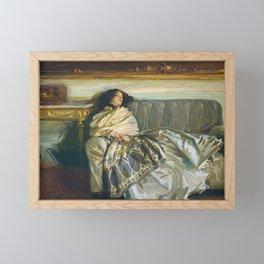 John Singer Sargent - Nonchaloir (Repose) Framed Mini Art Print