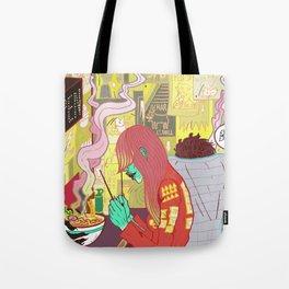 Raspberry the Vampire girl Tote Bag