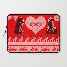 Clexa Christmas Laptop Sleeve