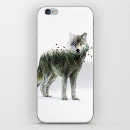 Wild I Shall Stay | Wolf iPhone Skin