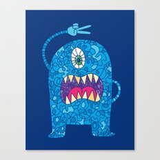 Peace Monster Canvas Print