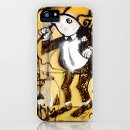 frog in tux iPhone Case