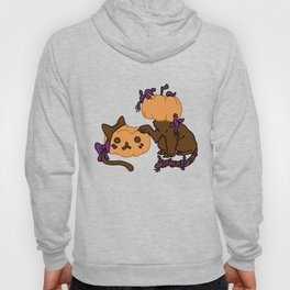 Pumpkin Kitty Hoody