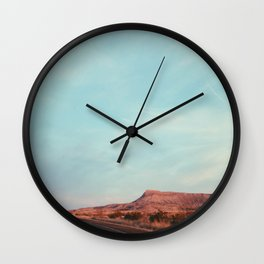 Texas I-10 Wall Clock