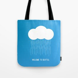 Simplistic Seattle  Tote Bag