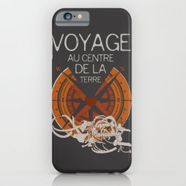 Books Collection: Jules Verne iPhone Case