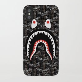 Bape shark goyard iPhone Case