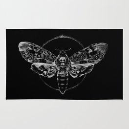 Death's-head Hawkmoth Rug