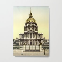 Les Invalides, Paris, France Metal Print