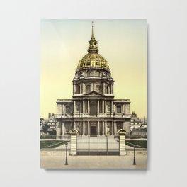 Les Invalides, Paris, France Metal Print