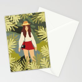 Girl Adventure Inspirational Art Stationery Cards