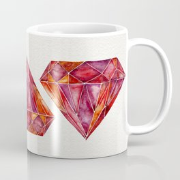 Million-Carat Ruby Coffee Mug