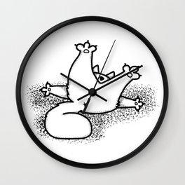 Cat's Ass Wall Clock