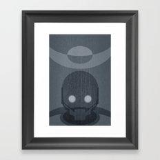 Rogue One Minimalist Framed Art Print