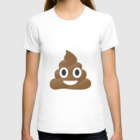 emoji T-shirts featuring Emoji Poo by Emojis on Mugs, Tshirts, Phone Cases & M