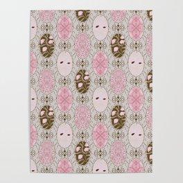 Vintage pattern Poster