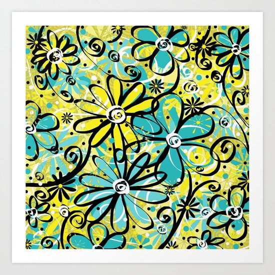 Feeling Groovy... Art Print